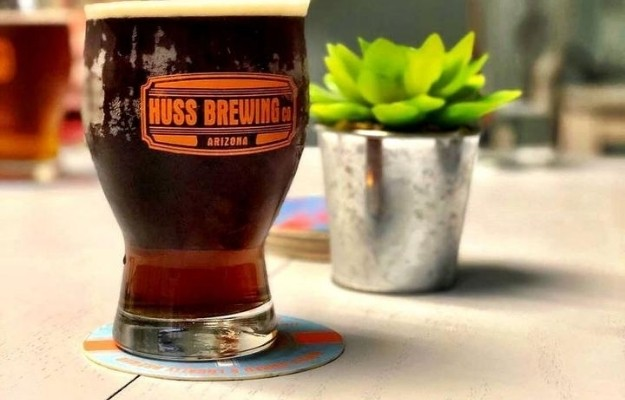 beer glass with succulent plant | Huss Brewing Company – Tempe & Phoenix | The Top 10 Arizona Breweries To Visit