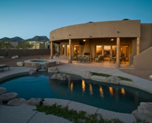 a house with the pool on the front   Feature   5 Smart Tips for Hosts During the Pandemic