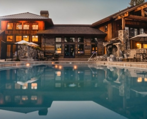 a wood villa with the pool on the front | Feature | Local Keyword Density Reports with Local SEO